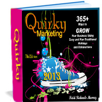 """Quirky Marketing Calendar 2013"""
